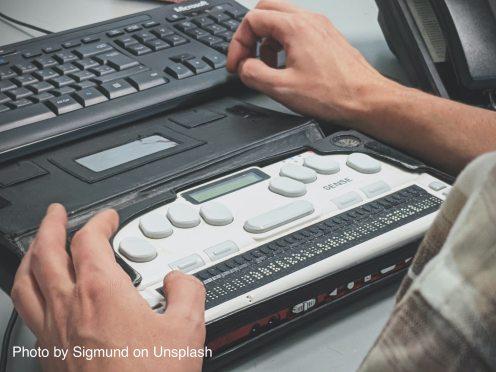 Image of Braille Reader